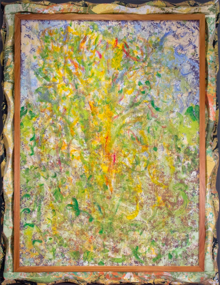 Bruce Dorow Abstract Painting - They Got A Lot of Pull Behind Them
