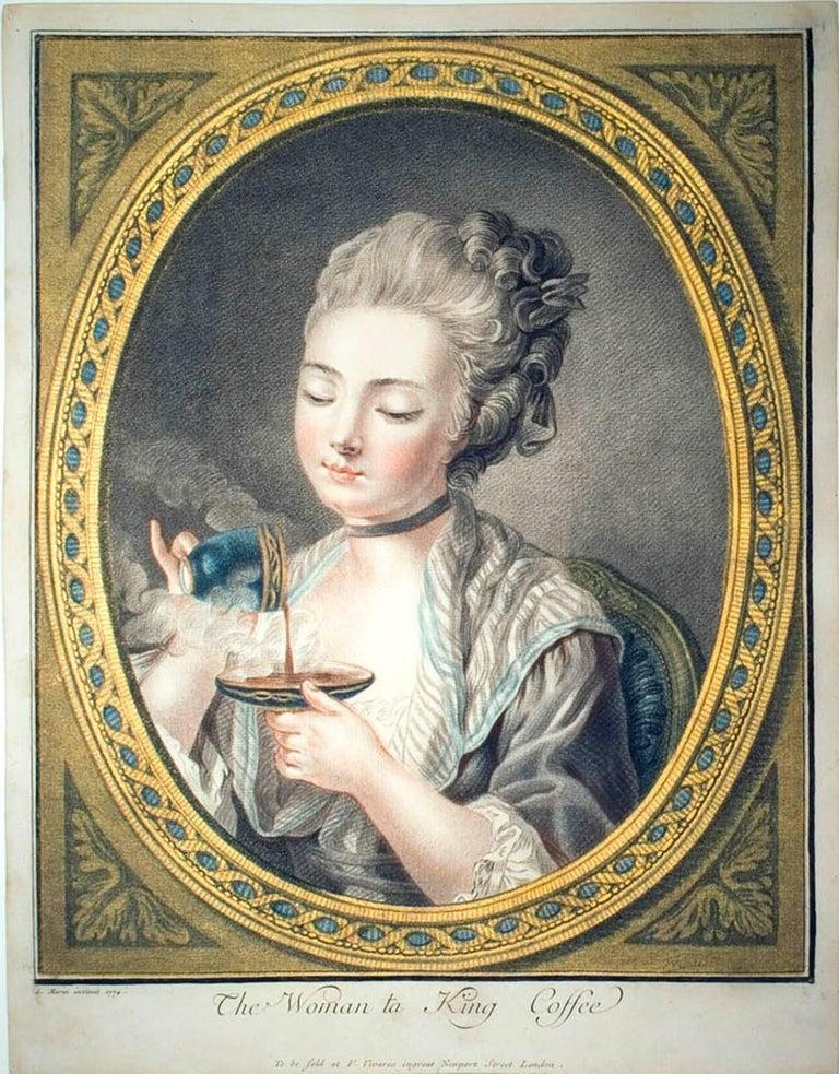 Louis-Marin Bonnet Portrait Print - The Woman ta King Coffee