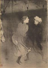 Répétition générale aux Folies-Bergère--Emilienne D 'Alençon et Mariquita