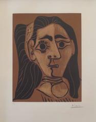 Pablo Picasso - Jacqueline au Bandeau II