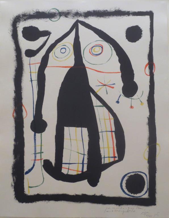 Joan Miró - L'Etrangere 1