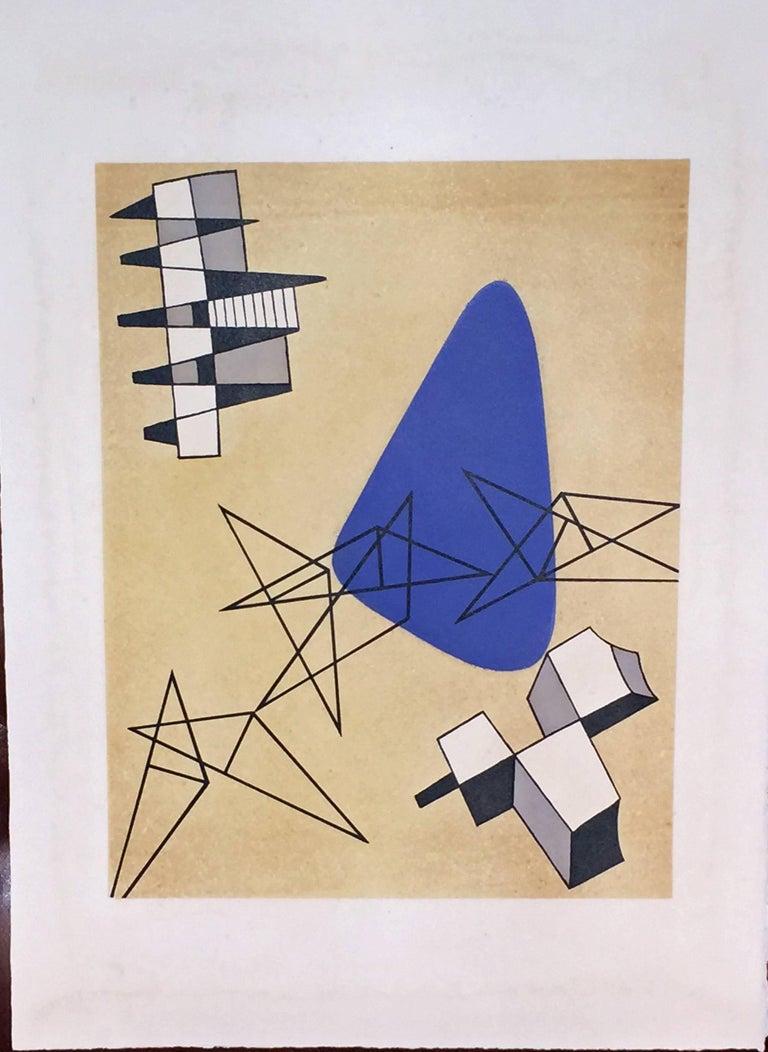 Hans (Jean) Arp Abstract Print - JEAN ARP - SONIA DELAUNAY - ALBERTO MAGNELLI - SOPHIE TAEUBER-ARP.