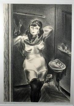 GIRL DRESSING