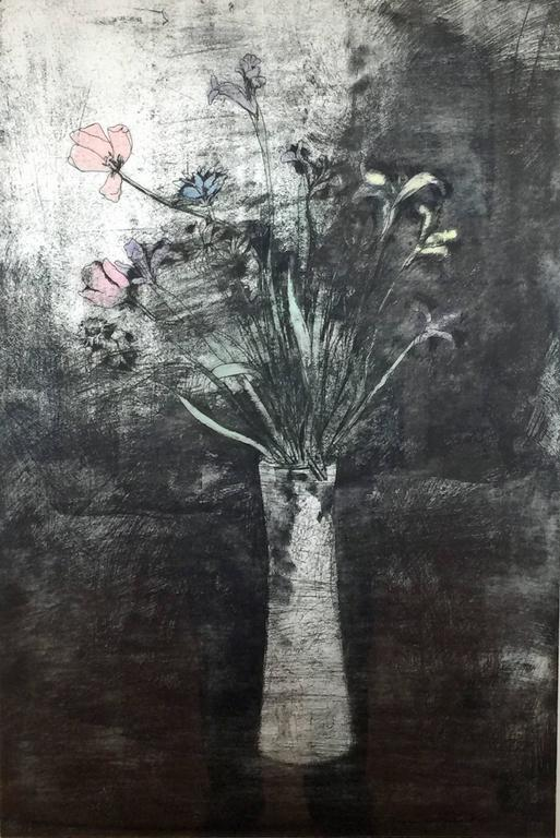 HAND COLORED FLOWERS