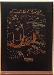 A GLIMPSE OF LOWER MANHATTAN (NIGHT)