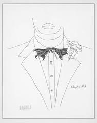 Albert Al Hirschfeld - MIDNIGHT COCKTAIL