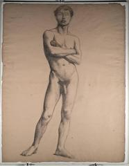 ACADEMIC MALE NUDE FIGURE STUDIES