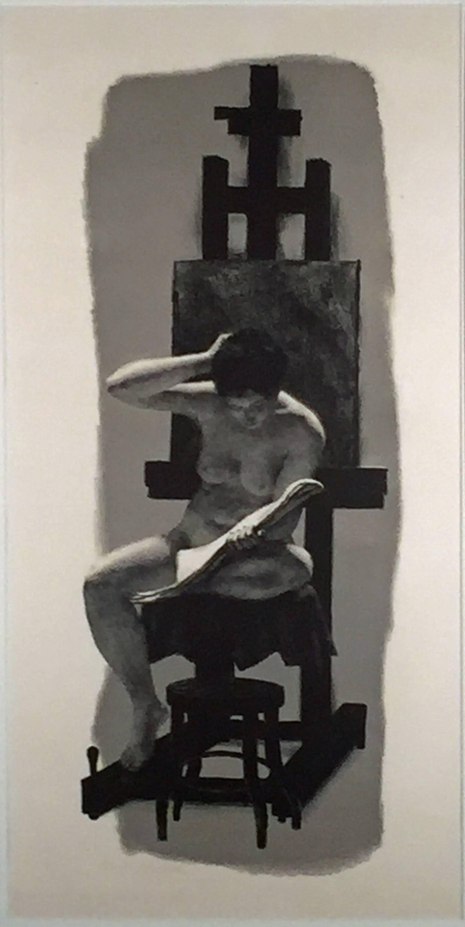 MODEL AND EASEL