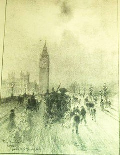 THE VICTORIA CLOCK TOWER, LONDON