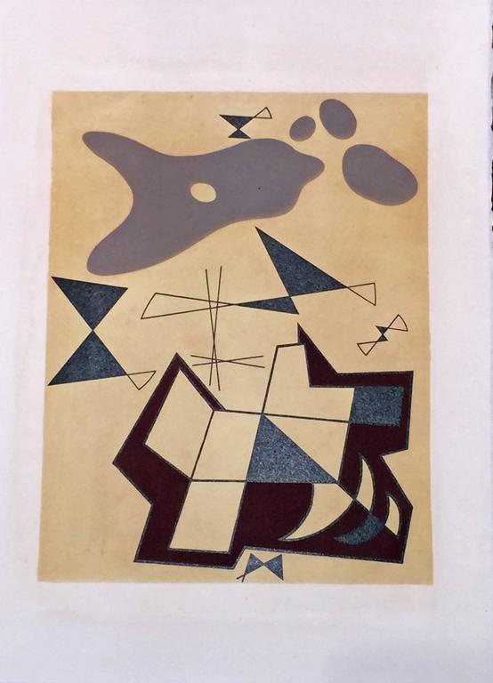 JEAN ARP - SONIA DELAUNAY - ALBERTO MAGNELLI - SOPHIE TAEUBER-ARP. For Sale 2