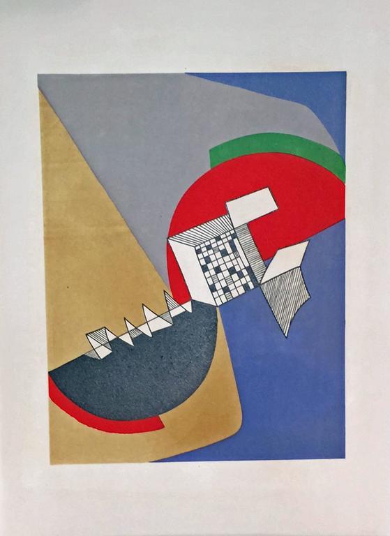 JEAN ARP - SONIA DELAUNAY - ALBERTO MAGNELLI - SOPHIE TAEUBER-ARP. For Sale 4