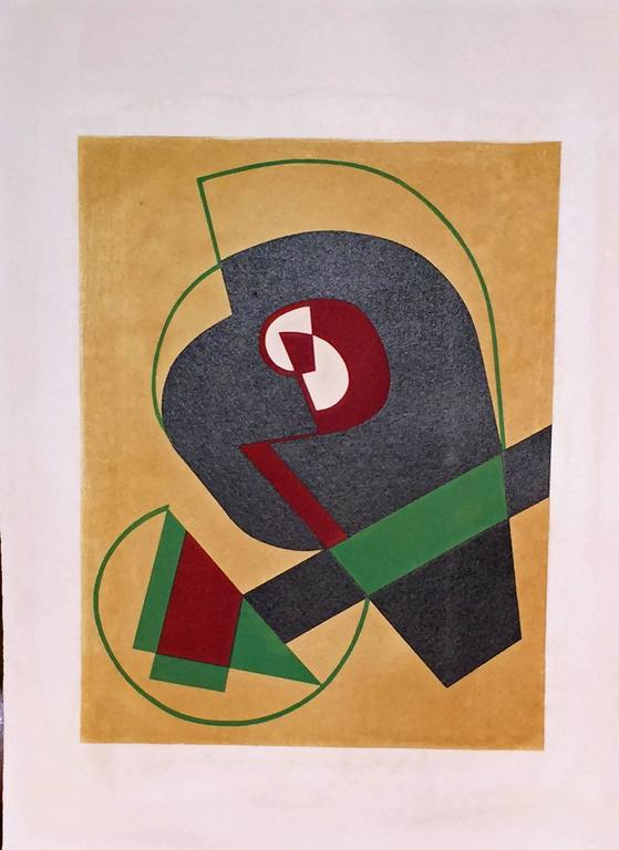 JEAN ARP - SONIA DELAUNAY - ALBERTO MAGNELLI - SOPHIE TAEUBER-ARP. For Sale 5