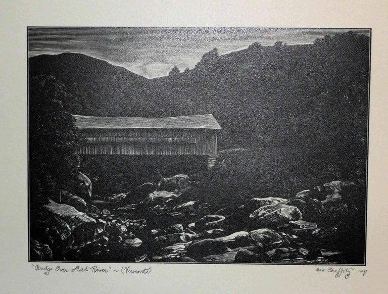 Asa Cheffetz Bridge Over Mad River Print For Sale At