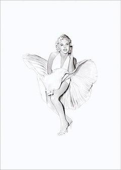 Marilyn on iphone