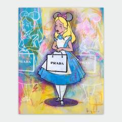 Waaaahderland Alice - Prada  (framed)