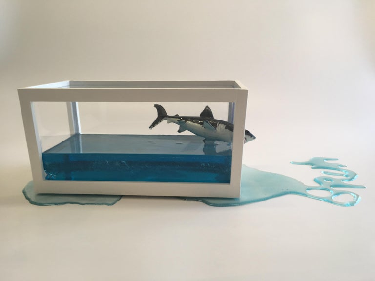"""Happy Accident Series - Damien Hirst Shark"""