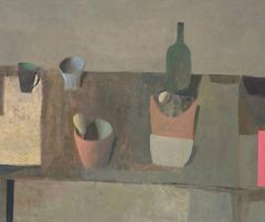 Table with Bottle