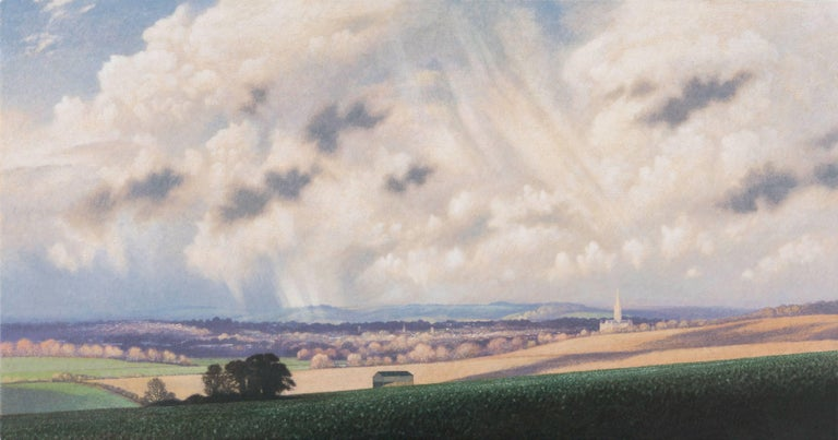 James Lynch Landscape Painting - Salisbury Cathedral