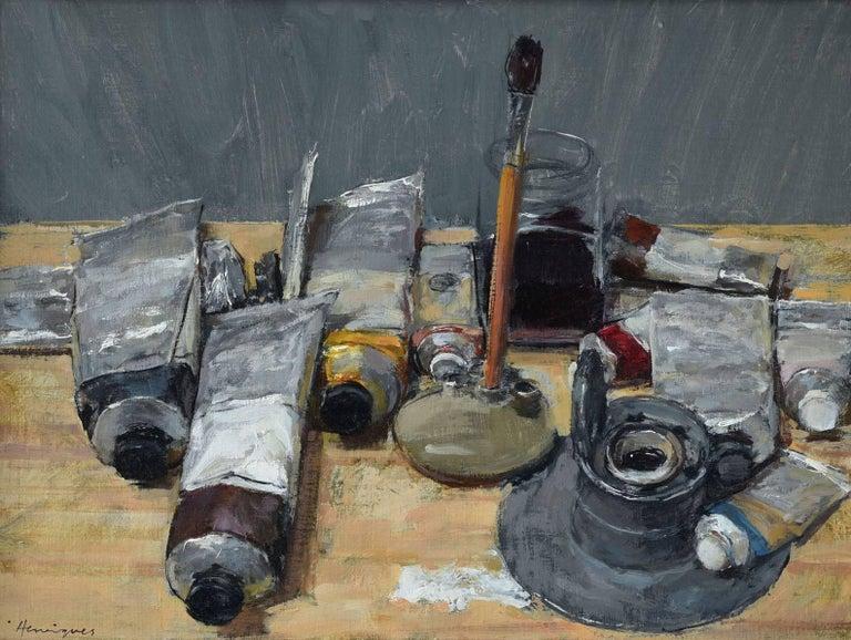 Ben Henriques Still-Life Painting - Paints