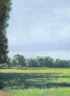 The Pasture - 21st century - Contemporary - Oil - Landscape