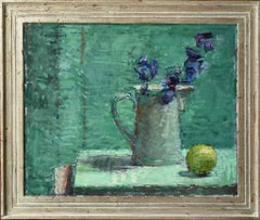Turquoise - 21st century - Contemporary - oil - Still-life
