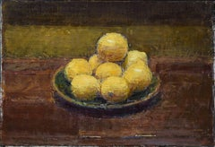 Lemons - 21st century - contemporary - Still-life - Oil