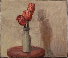 Tulips - 21st century - Contemporary - Still-life - Oil