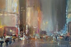 Broadway Lights, New York City Night