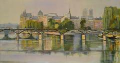 Pont des Arts and Reflections