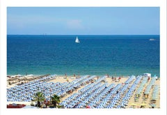 Coastal photography, DJ Leon, Beach Umbrellas / Rimini