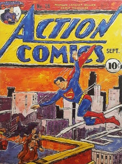 Superman - Able to Leap Tall Buildings in a Single Bound