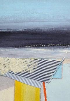 Coastal painting, Mixed media abstract, Eugene Healy, The Tide