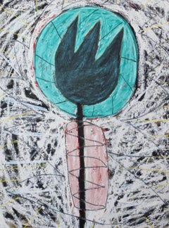 Lake Worth Tulip painting by Adam Handler