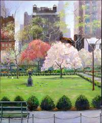 Gramercy Park In Spring