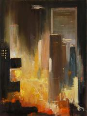 Lights Times Square Night