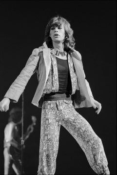 Mick Jagger Performs