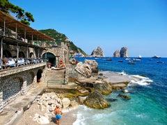 Coastal photography, DJ Leon, Capri Beach Club, Capri Italy