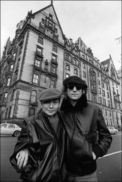 John and Yoko at the Dakota, 1980