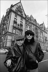 John and Yoko at the Dakota, 1980