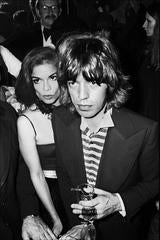 Bianca and Mick Jagger, 1976