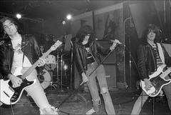 The Ramones perform at CBGB, 1977
