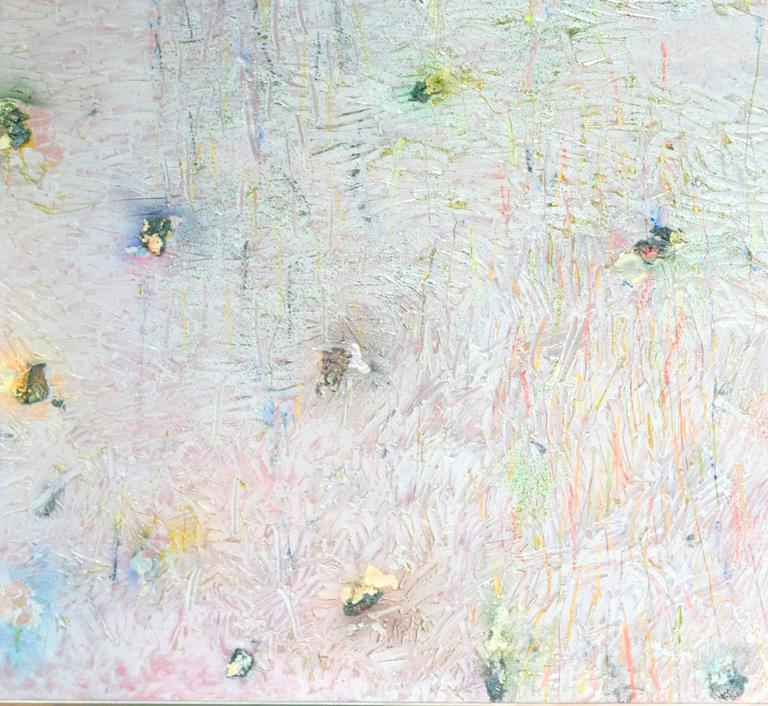 Memoire of a Moment  - Colour-Field Mixed Media Art by Stanley Boxer