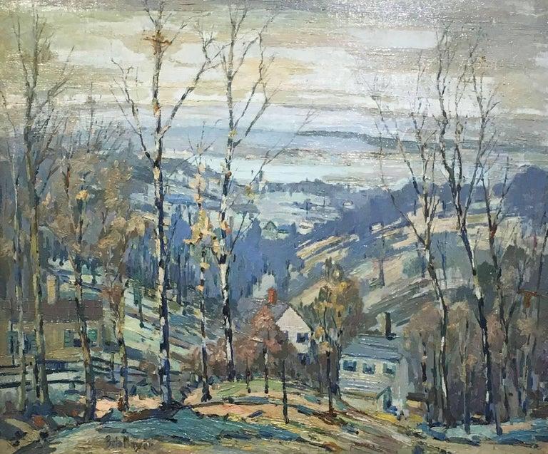 Peter Bela Mayer Landscape Painting - Beacon Hill Overlook