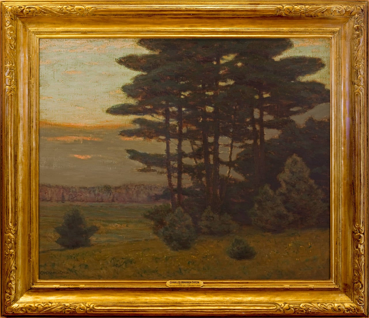 "New Jersey Home Painting From J S Painting: ""Group Of Pines, Bloomfield, NJ"