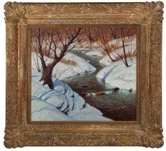"""""""Brook in Winter"""""""