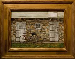 """Bicycle and Barn"""