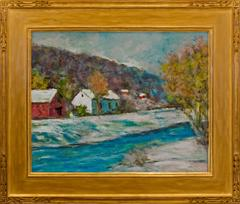"""Winter on the Canal, New Hope"""
