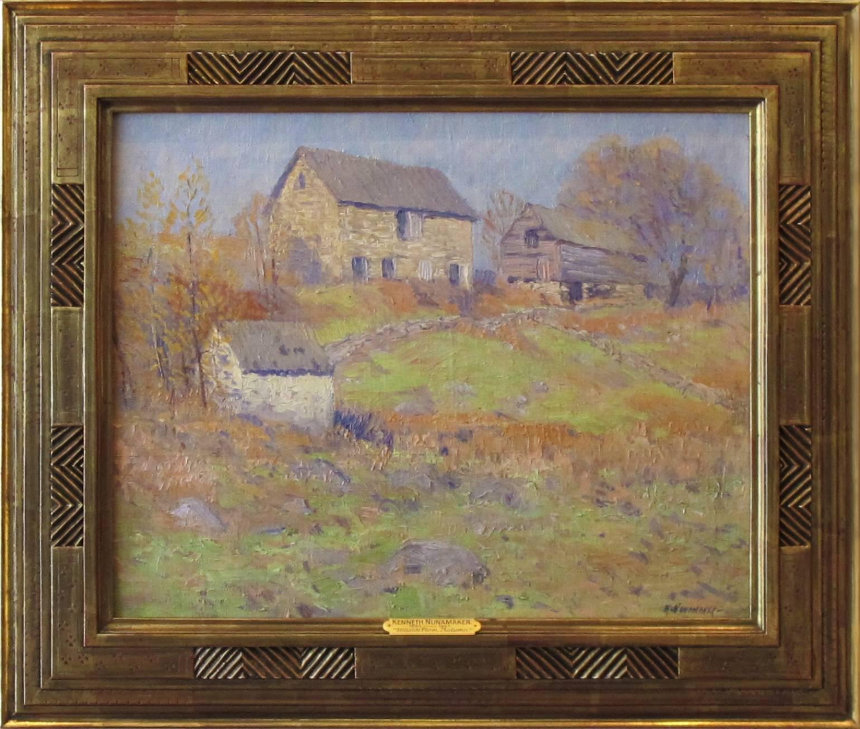 """Hillside Farm, Autumn"""