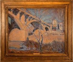 """Stockton Ave. Bridge, New Hope"""
