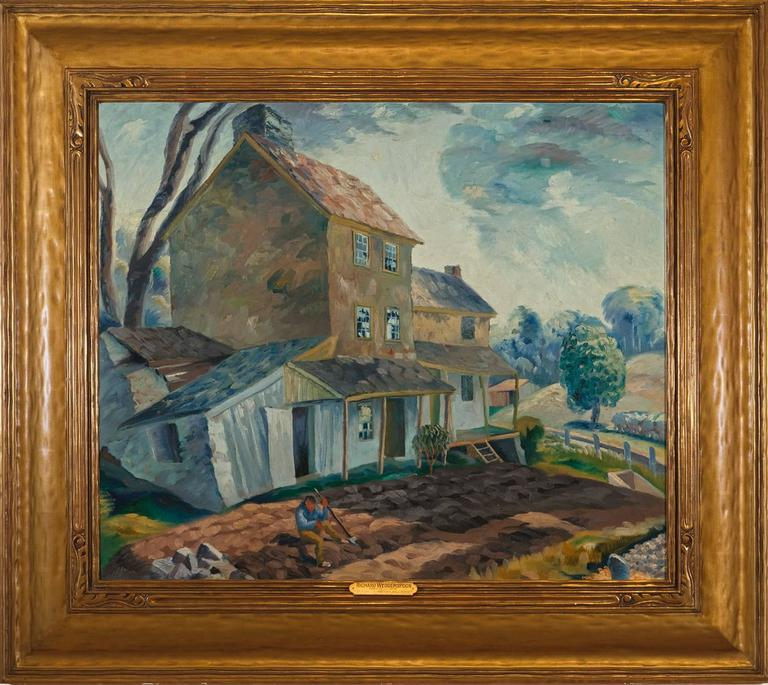Richard Wedderspoon Quot House On The Hill Stockton